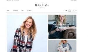 Kriss öppnar ny webbutik