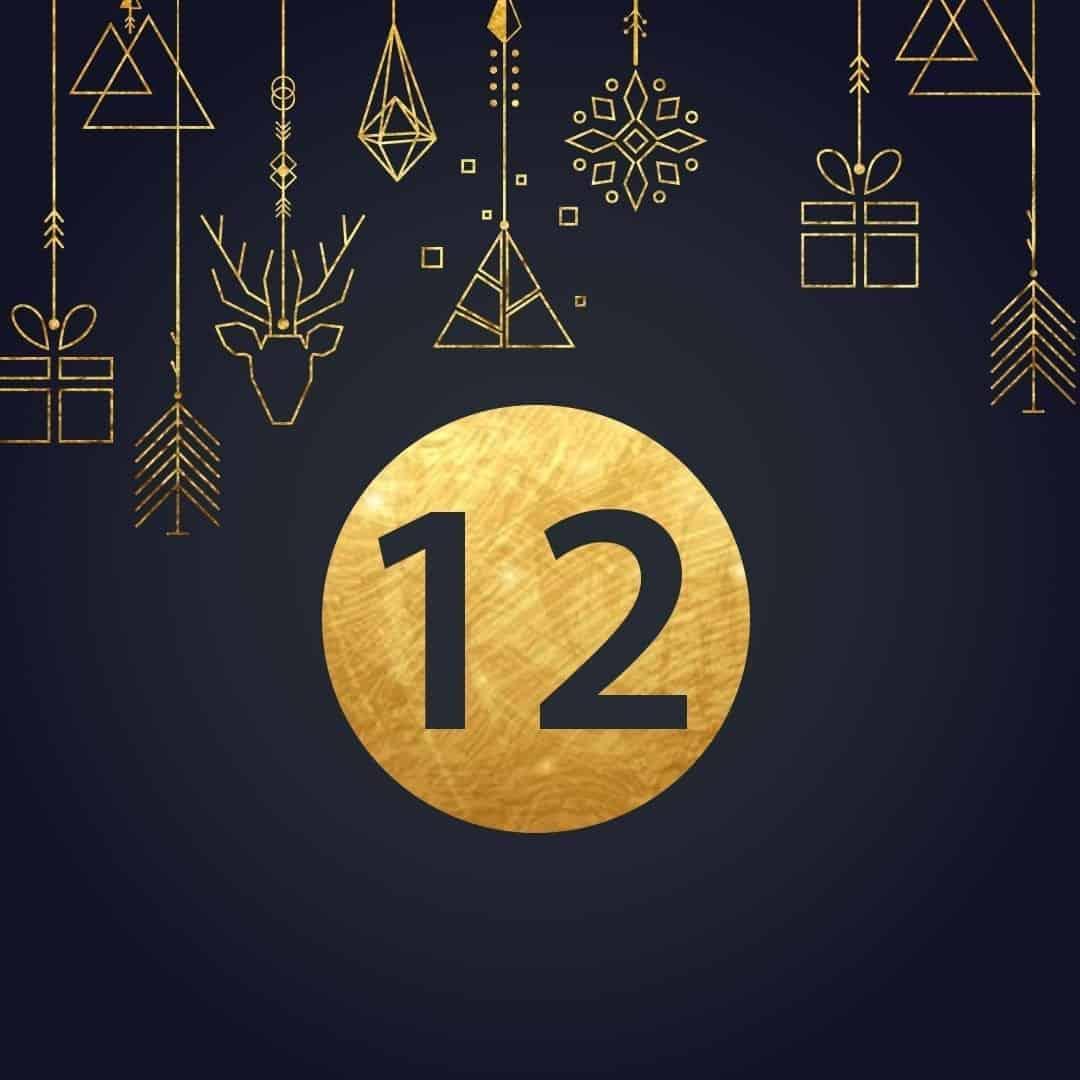 Lucka 12 i vår adventskalender. Kriss julkalender med fina erbjudanden varje dag fram tills julafton.