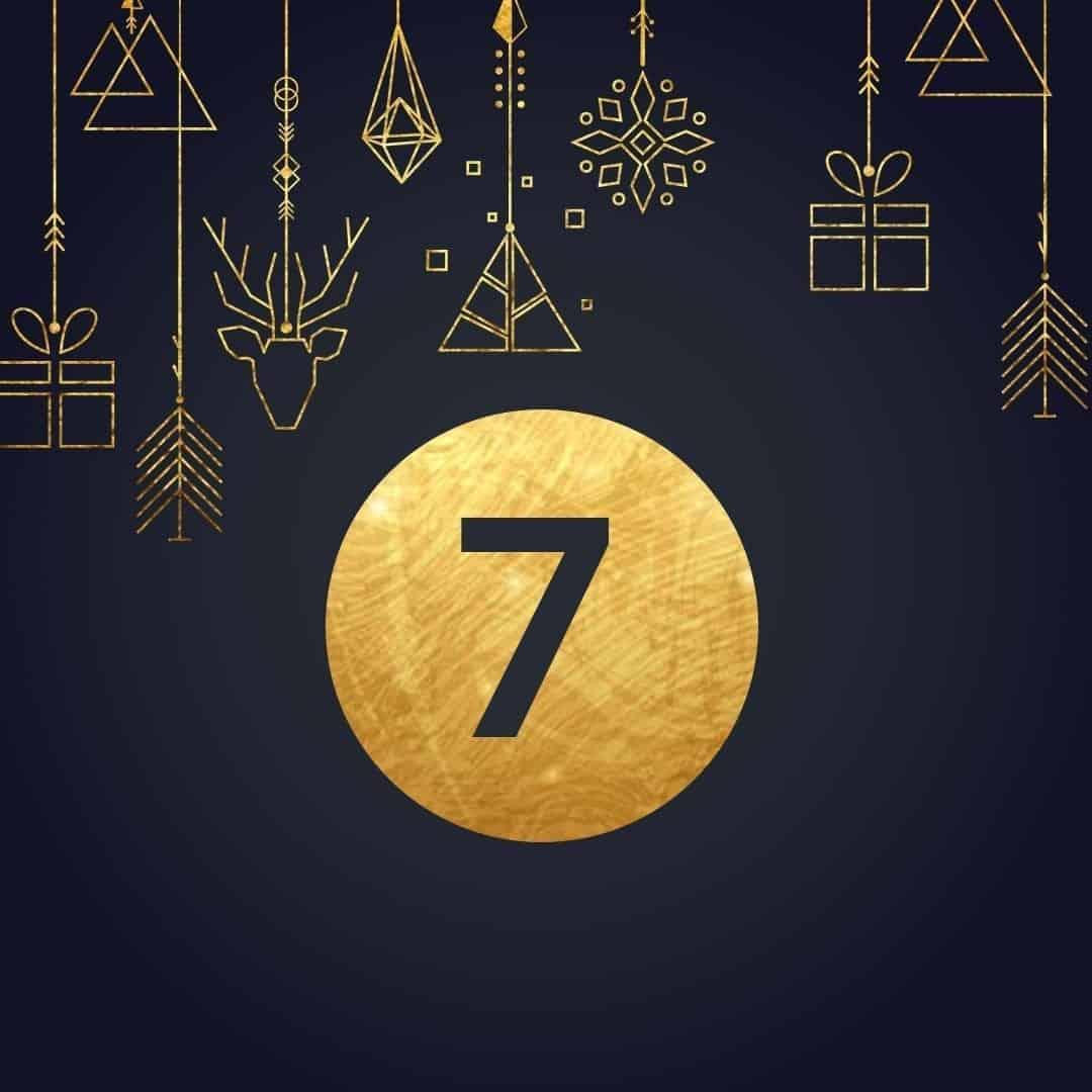 Lucka 7 i vår adventskalender. Kriss julkalender med fina erbjudanden varje dag fram tills julafton.