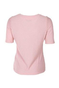 Härlig Kriss Topp Estelle i rosa med kort ärm